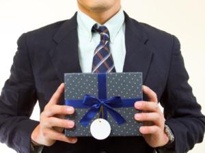 Het geven van relatiegeschenken